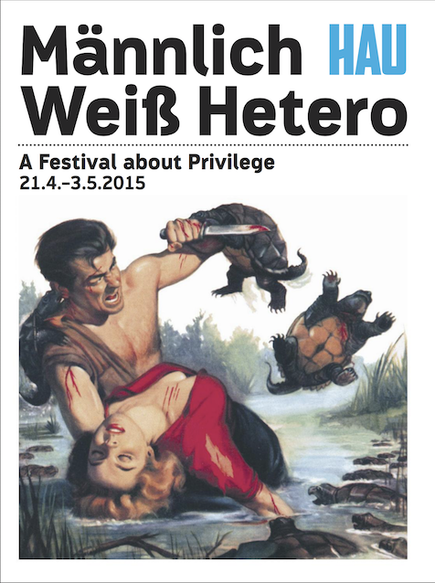 Cover of the festival magazine.