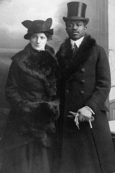 Eltern des Zeitzeugen Theodor Wonja Michael, 1914. (© Privatarchiv Paulette Reed-Anderson)