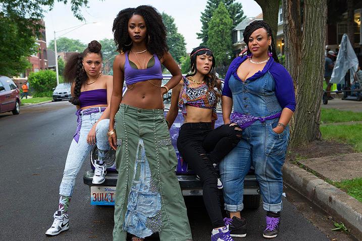 Die Frauen der Spartans. Standbild aus dem Film.