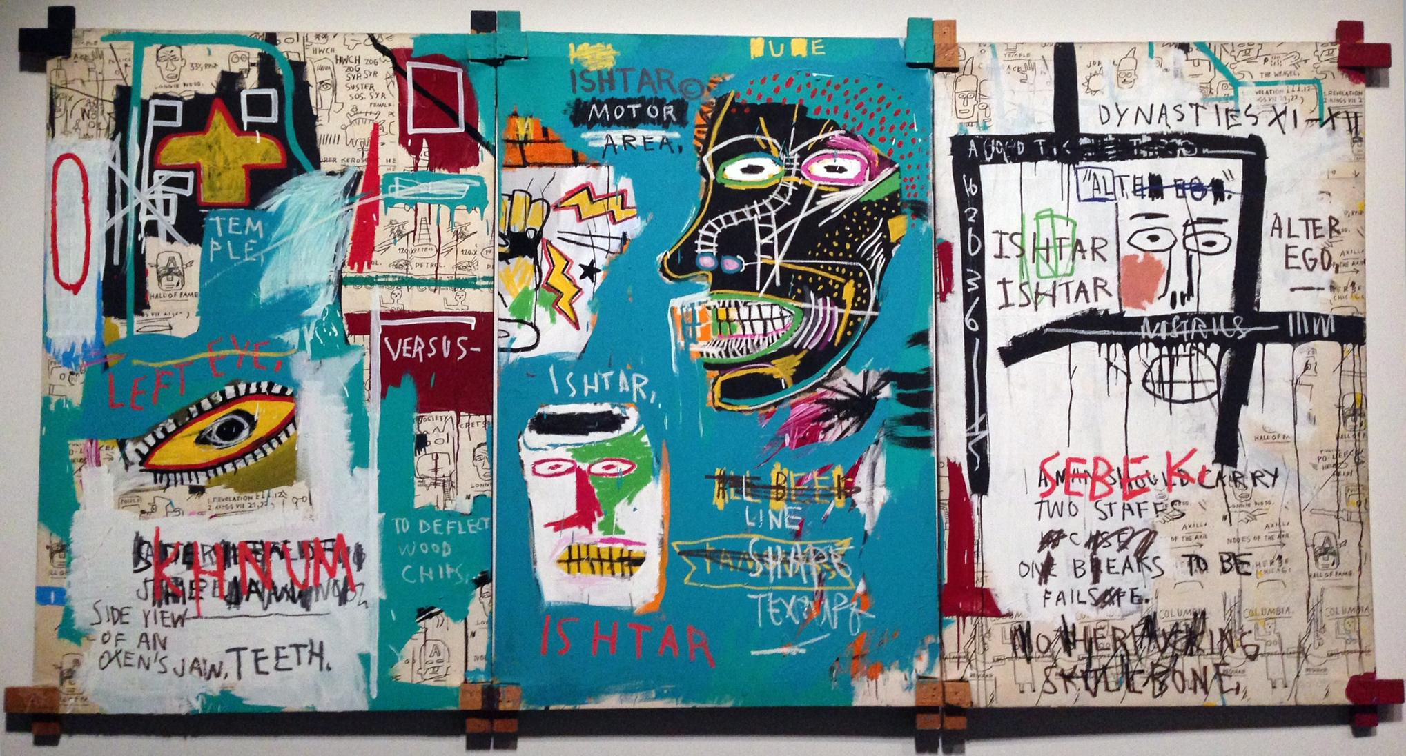 Jean-Michel Basquiat: Ishtar, 1983.